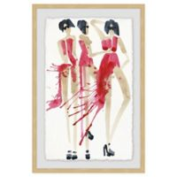 Marmont Hill Vogue Rouge 24-Inch x 36-Inch Framed Wall Art