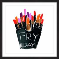 Marmont Hill Fry Day 12-Inch Square Framed Wall Art