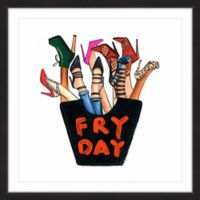 Marmont Hill Fry Day 32-Inch Square Framed Wall Art