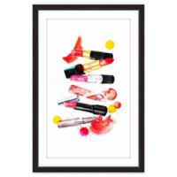 Marmont Hill Lipstick Collection 20-Inch x 30-Inch Framed Wall Art