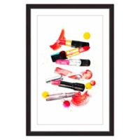 Marmont Hill Lipstick Collection 60-Inch x 40-Inch Framed Wall Art