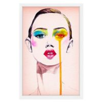 Marmont Hill Model Portrait 16-Inch x 24-Inch Framed Wall Art