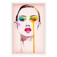 Marmont Hill Model Portrait 20-Inch x 30-Inch Framed Wall Art