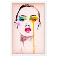Marmont Hill Model Portrait 24-Inch x 36-Inch Framed Wall Art