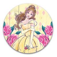 Disney® Princess Belle 14-Inch Circular Wood Wall Art
