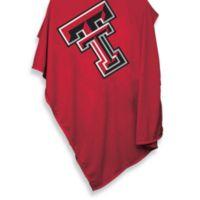 Texas Tech University 84-Inch x 54-Inch Sweatshirt Throw Blanket