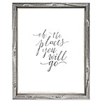 Sixtrees™ The Places You Will Go 10-Inch x 12-Inch Framed Wall Art