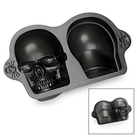 Wilton 174 Dimensions 174 3d Skull Bake Pan Bed Bath Amp Beyond