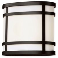 Bel Air Lighting Zephyr 1-Light 7.5-Inch Outdoor Lantern in Black with Frosted Glass Shade