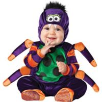 InCharachter® Itsy Bitsy Spider Toddler's Size 6M-12M Halloween Costume in Purple