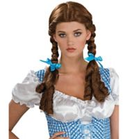 The Wizard of Oz Deluxe Dorothy Adult Halloween Costume Wig