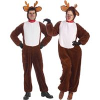 One Size Reindeer Adult Costume
