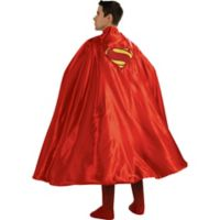 One Size Superman Deluxe Adult Halloween Cape
