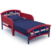 Delta Children MLB St. Louis Cardinals Plastic Toddler Bed in Red