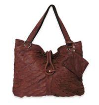 Amerileather Sana Leather Handbag in Brown