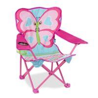 Melissa & Doug® Cutie Pie Butterfly Camp Chair in Multi