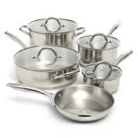 Oster® Saunders Stainless Steel 9-Piece Cookware Set