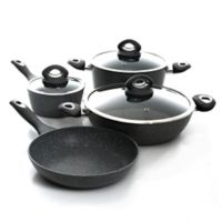 Oster® Caswell Nonstick Aluminum 7-Piece Cookware Set in Marble