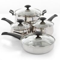 Oster® Ingleton Stainless Steel 8-Piece Cookware Set