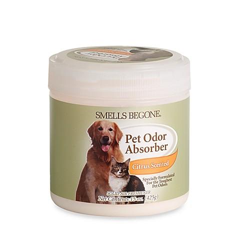 smells begone® pet odor absorber citrus solid air freshener - bed