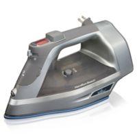 Hamilton Beach® Durathon® Iron with Retractable Cord in Silver