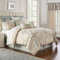 Marquis® by Waterford Warren Queen Comforter Set in Cream