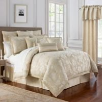 Marquis® by Waterford Emilia Queen Comforter Set in Cream