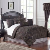 Marquis® by Waterford Pierce Comforter Set in Chocolate