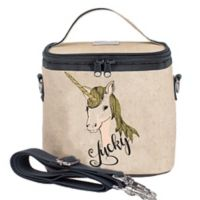SoYoung Lucky Unicorn Small Cooler Bag in Gold