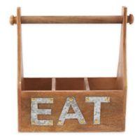 Mud Pie® Eat Towel & Utensil Holder