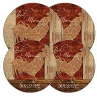 Range Kleen® Good Morning Sunshine Multicolor Burner Covers (Set of 4)