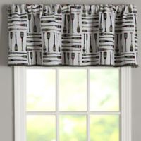 Oars Tapestry 60-Inch Rod Pocket Window Curtain Valance
