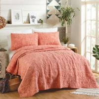 Justina Blakeney by Makers Collective Hamsa King Quilt Set in Orange