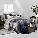 UGG® Redding Reversible Full/Queen Comforter Set in Navy/Grey
