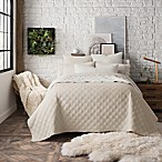 UGG™ Solstice King Coverlet in Cream