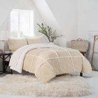 UGG™ Larson Reversible King Comforter Set in Birch