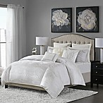 Madison Park Signature Hollywood Glam Queen Comforter Set in White