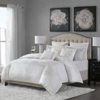 Madison Park Signature Hollywood Glam King Comforter Set in White