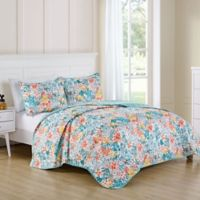 VCNY Home Kayla Reversible Queen Quilt Set in Blue
