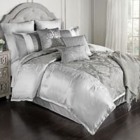 Kolina 14-Piece Queen Comforter Set in Grey