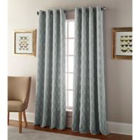 Kings Gate 63-Inch Grommet Window Curtain Panel in Grey