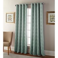 Kings Gate 108-Inch Grommet Window Curtain Panel in Spa