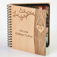 Carved In Love Photo Album