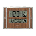 La Crosse Technology Faux Wood Atomic Clock