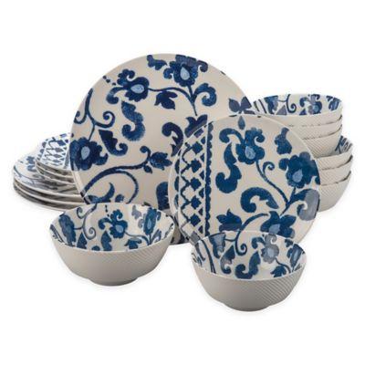 Bia Cordon Bleu Babylon 16-Piece Dinnerware Set in Blue  sc 1 st  Bed Bath u0026 Beyond & Buy BIA Dinnerware from Bed Bath u0026 Beyond