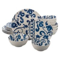Bia Cordon Bleu Babylon 16-Piece Dinnerware Set in Blue