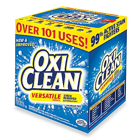 Oxiclean 174 versatile stain remover powder in 7 22 lb box bed bath
