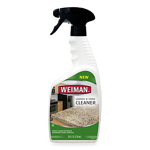 Weiman? Granite & Stone Daily Cleaner in 24-Ounce Spray Bottle - Bed ...