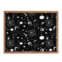Deny Designs Solar System by Heather Dutton Small Rectangular Serving Tray