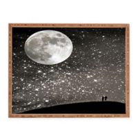 Deny Designs Love Under The Stars by Shannon Clark Small Rectangular Serving Tray